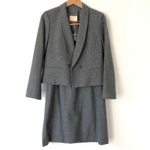 Vintage Pendleton 2 piece Wool Skirt Blazer Suit